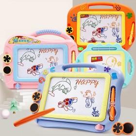 宝宝画板磁性彩色大号画画板儿童涂鸦板写字板小孩益智