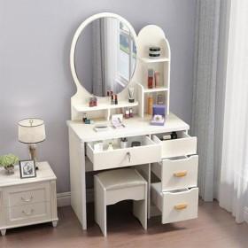 网红梳妆台卧室迷你小户型公主现代简约化妆桌经济型多