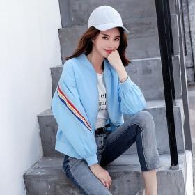 短外套女韩版学生立领夹克女开衫显瘦长袖棒球服女