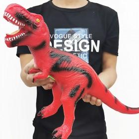 仿真软胶大号恐龙玩具霸王龙动物模型超大塑胶软儿童