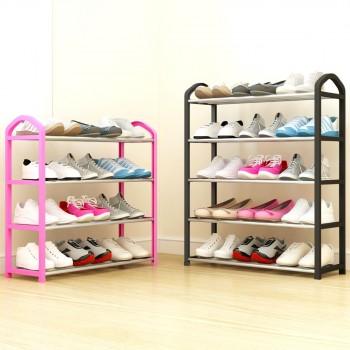 简易鞋架多层家用防尘组装经济型宿舍寝室小号鞋