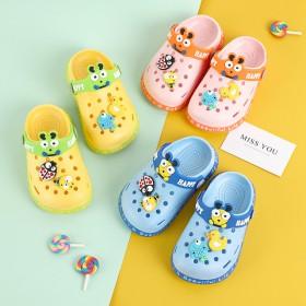 2020儿童洞洞鞋凉拖鞋夏季新款卡通防滑凉鞋