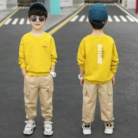 男童秋装套装新款韩版潮酷童装2020年新款休闲