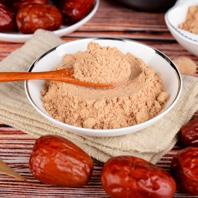 红枣粉500g纯粉现磨冲饮孕眠熟枣粉孕妇商用烘培