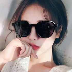 ins眼镜女墨镜韩版网红同款抖音蹦迪偏光太阳眼睛防
