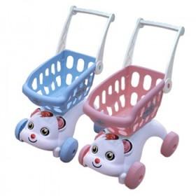 儿童切水果玩具仿真手推车