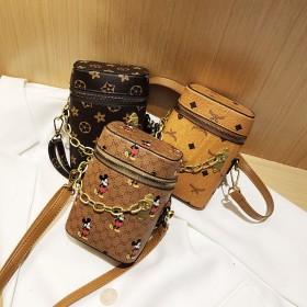 韩版时尚手机包ins超火百搭链条单肩斜挎包