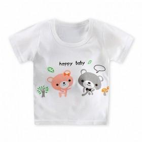 宝宝衣服夏季男女童t夏装儿童短袖恤中童半袖恤T薄