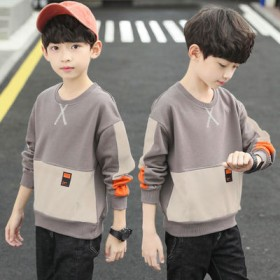 男童秋冬装长袖T恤2020