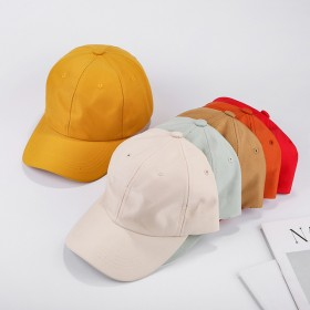 新款光板棒球帽男女户外时尚遮阳鸭舌帽