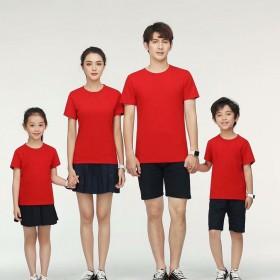 男女T恤印制工作衣服装速干纯棉短袖上衣班服