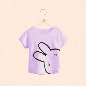 2020新款女童短袖T恤儿童夏季女宝宝纯棉打底衫中