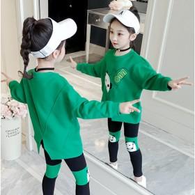 女童春装套装2020新款运动超洋气