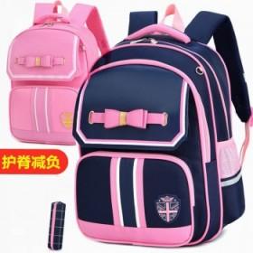 儿童书包小学女生1-6年级女童双肩背包