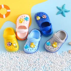 宝宝洞洞鞋防滑小孩凉鞋夏季新款男童女童家用拖鞋