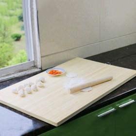 面板家用和面板案板不粘实木家用竹木大号切菜板案板擀