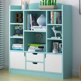 简易书架落地书柜 简约现代展示架收纳储物架创意储物