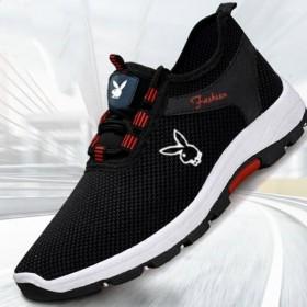 网面布面可选男女同款透气休闲鞋运动鞋单鞋子情侣鞋