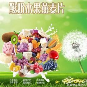 酸奶果粒块水果麦片混合坚果500g