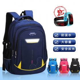 防水书包男小学生书包女孩1-6年级减负护脊防水背包