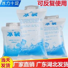 冰袋快递专用冷冻保冷一次性自封口反复使用保温包家用