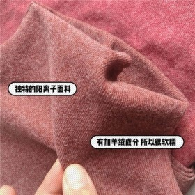 阳离子打底女半高领长袖T恤秋冬新款双面德绒保暖弹力