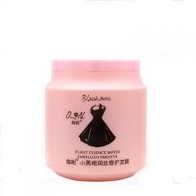 黑裙免蒸发膜倒膜焗油膏修复头发亮泽护发素500ML
