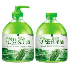 洗手液芦荟精华抑菌保湿家用清香型手部清洁500g