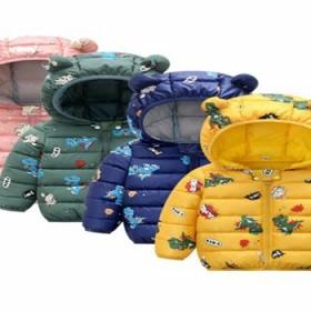 新儿童羽绒棉服短款男女童棉衣宝宝棉袄小童保暖冬装