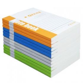3本装笔记本子32办公文具日记本小清新软面抄加厚