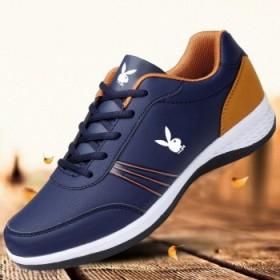 花花公子国际春季男鞋运动鞋网面透气跑步鞋旅游鞋板鞋