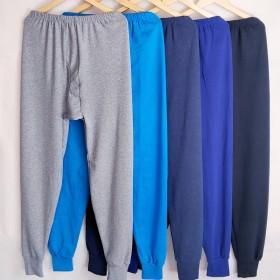 2条装 男士秋裤男保暖裤加厚宽松舒适男打底裤衬裤