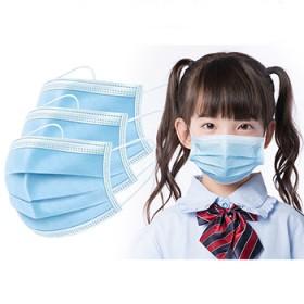 20只儿童口罩 三层熔喷布口罩小学生小朋友口罩