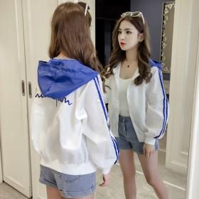 夹克女短款春秋新款韩版宽松学生薄款开衫棒球外套薄
