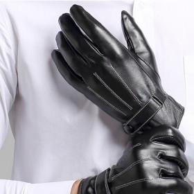 皮手套 保暖防风手套 男女通用