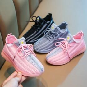 新款网面休闲童鞋2020秋季儿童运动鞋男女小中大童