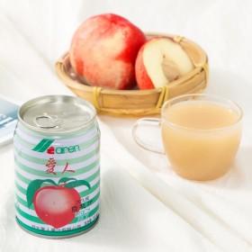 爱人果汁系列鲜桃6种口味罐装整箱纯果汁白桃草莓芒果