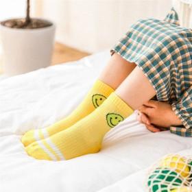 10双装秋季新款男童女童保暖袜子宝宝袜可爱百搭童袜