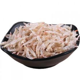儿童虾皮特级无盐补钙干货即食新鲜淡干虾米虾皮粉做婴