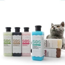 SOS宠物沐浴露宠物泰迪金毛比熊除臭洗澡浴液狗