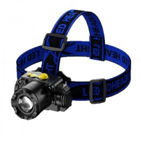 LED头灯强光可充电头戴式手电筒