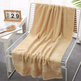 70×135cm纯棉大浴巾洗澡巾加厚吸水成人大毛巾