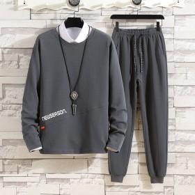 秋季新款休闲卫衣套装长袖长裤两件套运动服