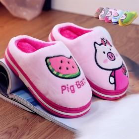 冬季儿童卡通保暖鞋