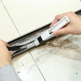 窗户窗槽刷 凹槽清洁刷 缝隙刷 纱窗清洗工具 键盘