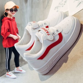 儿童运动鞋男童2020春秋新款女童小白鞋