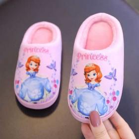 儿童拖鞋夏女童拖鞋大童小童防滑小孩浴室软底苏菲亚