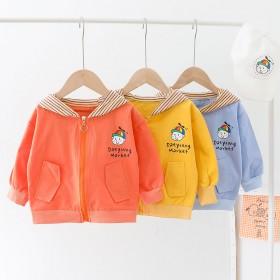 秋季新款男童洋气风衣外套韩版小童儿童夹克