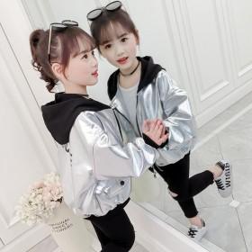 秋季新款女童洋气外套儿童韩版夹克洋气上衣