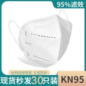 【30只】医用型KN95口罩